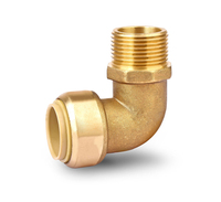 LB-GUTEN TOPHigh quality manufacturer forged female brass 1/4 or 3/4 tube garden hose quick connector for water