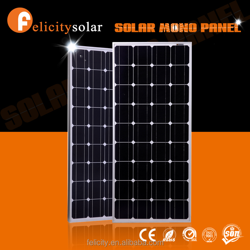 A grade 36 cells solar panels <strong>price</strong> monocrystalline solar panel 100w for home