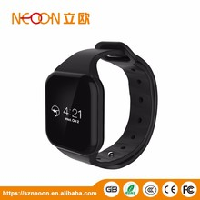 2017 Remote camera smart watch with CE ROHS sports fitness tracker smart band