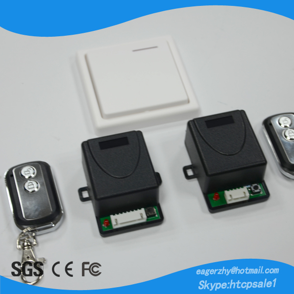 Wireless Magnetic or electric lock remote control/ Door Remote Control switches for parking lot