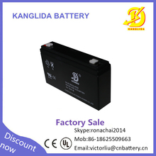 High quality 6v 7ah maintenance free dry battery for ups price in Pakistan