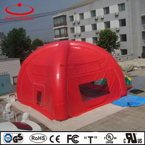 PVC inflatable outdoor tent, custom made inflatable camping tent