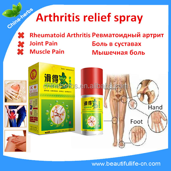 Rheumatoid Arthritis, Joint and Muscle Pain spray, pain relief spray