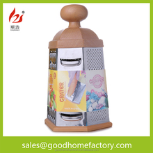 Sliced fruits and vegetables stainless steel multi-function device is shredded potato radish grater four planer Kitchen