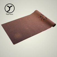 Anti-Tear fancy Eco-Friendly Absorbent Antimicrobial 3-fold exercise mat sponge mat with soft cover portable yoga mat