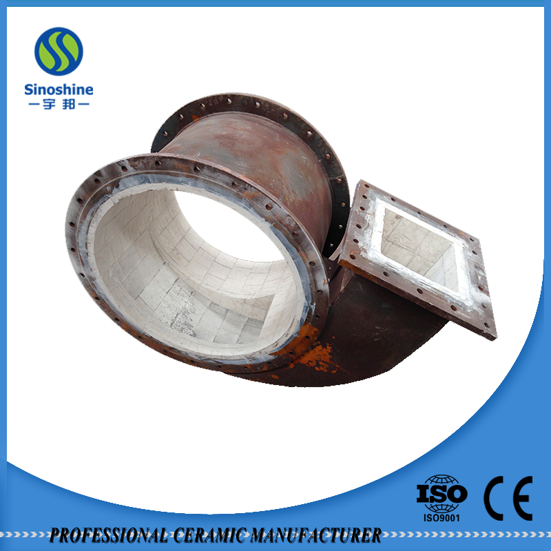 Various kinds of ceramic ceramic-lined canal
