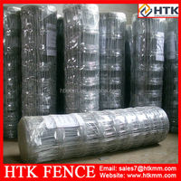 Factory low price good quality galvanized field fence wire 8ft