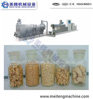 Soya Chunks/Soya Nuggets Processing Machines