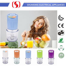 2017 new style dual speed switch electric home use mini onion chopper