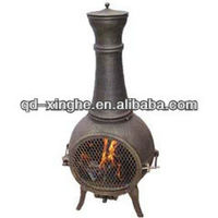 cast iron outdoor chimney