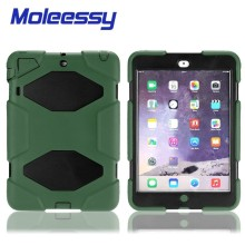 Military defender silicone tablet case for Ipad Mini