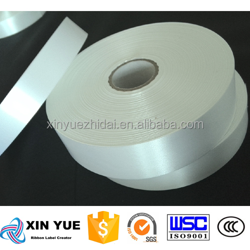 10mm 20mm polyester label roll heavy fabric ribbon