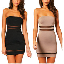 OEM Welcomed Sexy One Pieces Bandage Dress 2018