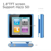 Mini 1.8'' mp3 mp4 digital player 2gb manual with high quality