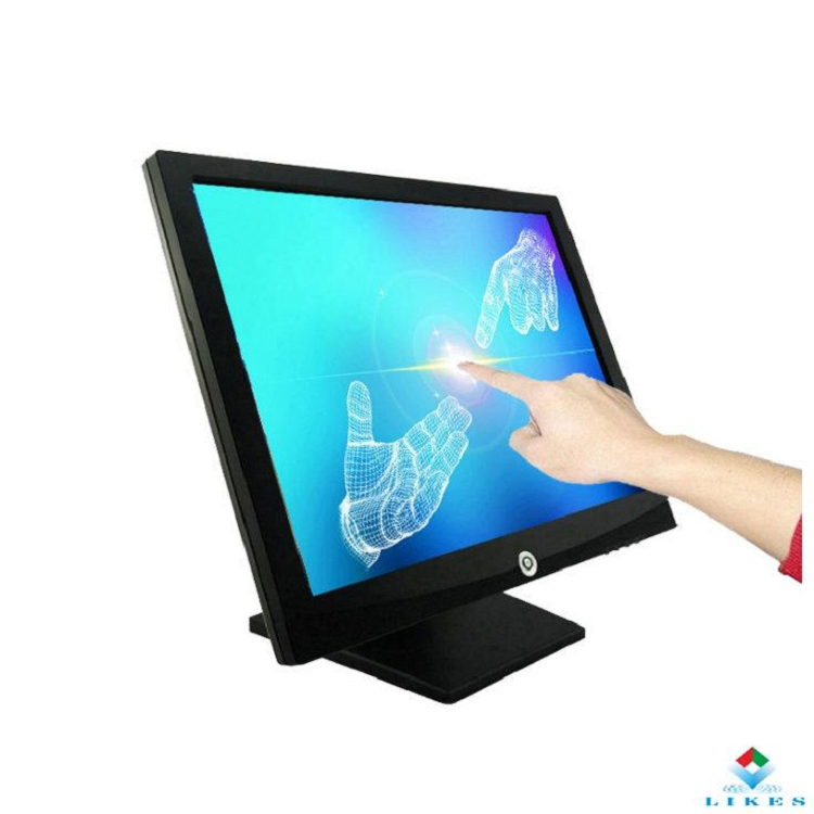 LKS-TM17 Low price 17inch 4:3 Industrial touch screen monitor for pos system / computer