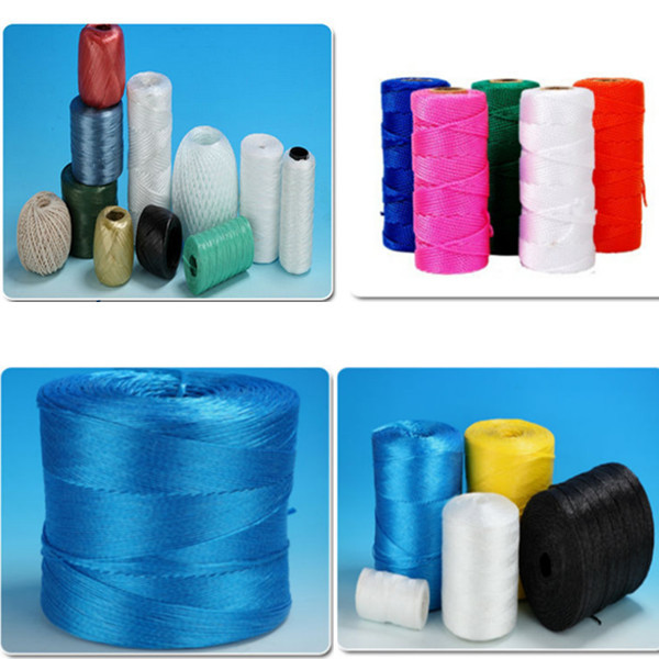 Colorful pp packing rope for agriculture