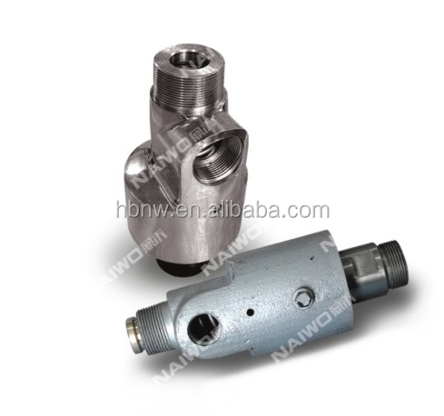 Thread coupling hydraulic cooling water rotary joint,copper Swivel fitting