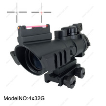Hunting optics rifle scope both 20mm and 11mm picatinny mount with red light