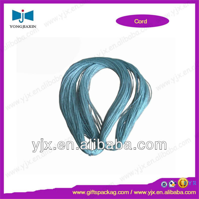light blue rayon non-elastic cords ropes hot sale company