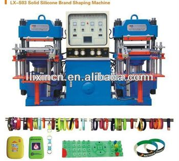 silicone rubber wristband making machine