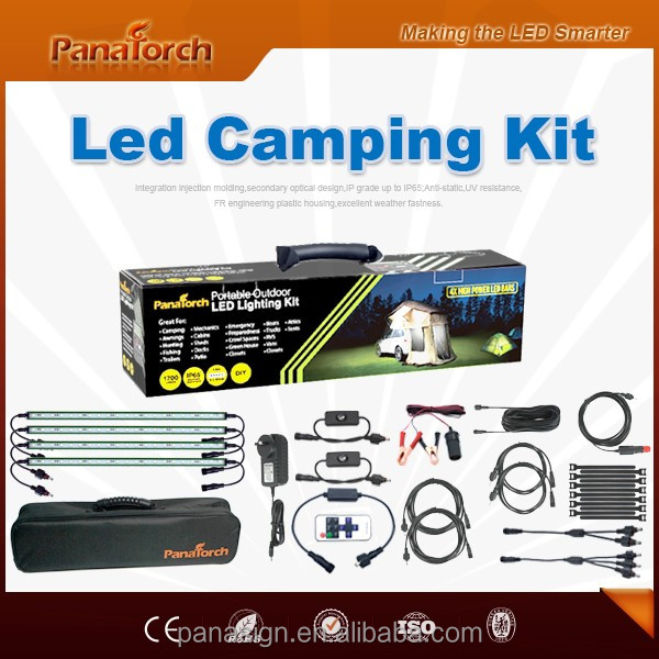PanaTorch New packaging Led Camping Bar Light PS-C5521B standard DC connectors with dimmer