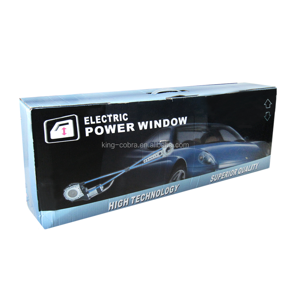 universal 4-door power window kit with 12v dc car electric motor