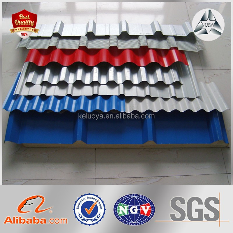 Coated Surface Zinc Coated Roofing Metal Plate Corrugated Roofing Steel Sheet Panel Steel Roof Tile