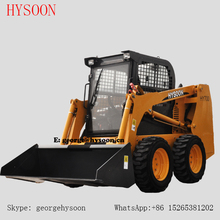 diesel engine 60HP HY700 wheel Skid steer Bobcat loader