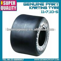 Rental market Go Karting tyre 11*7.10-5 ,super quality kart tire