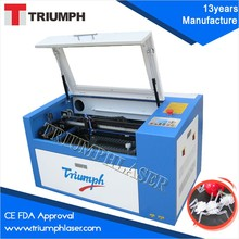 HOT sale Triumph mylar stencils laser cutting machine