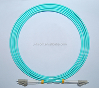 LC/PC-LC/PC MM 50/125 DX 2.0mm 4M OM3 Fiber Optic Patch Cord
