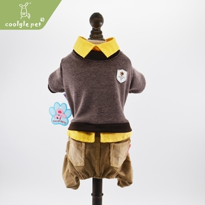 China Factory Supply Pet Clothes Custom Made Plain Dog Clothing