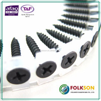 Taiwan niddle point collated screws