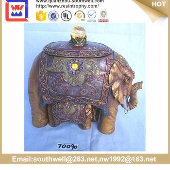 Polyresin Thai Elephants For Home Decor Buy Polyresin Thai Elephants Resin Elephant Figurine