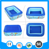 Outdoor 2 ring pvc swimming pools inflatable water products