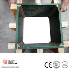 PP plastic plywood concrete formwork for columns as latest building materials
