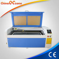 Acrylic Glass Leather MDF Paper Plastic Plexiglass Plywood Rubber Stone Wood 1040 80W Desktop Laser Cut Engrave Machine