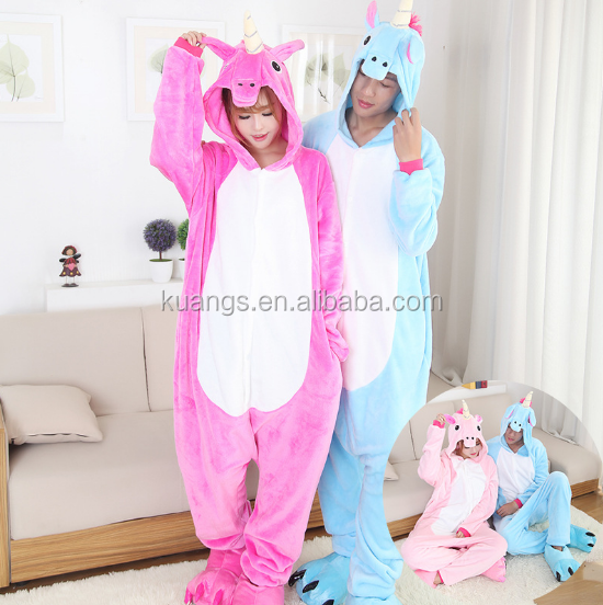 cheap adult unicorn onesie pajamas