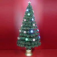 72 Inch High End Fiber Optic Christmas Trees for Party Decoration