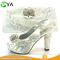 High Heel Wedding Matching Shoe And Bag, 2016 For Party Stone Italian Shoes And Bag Set