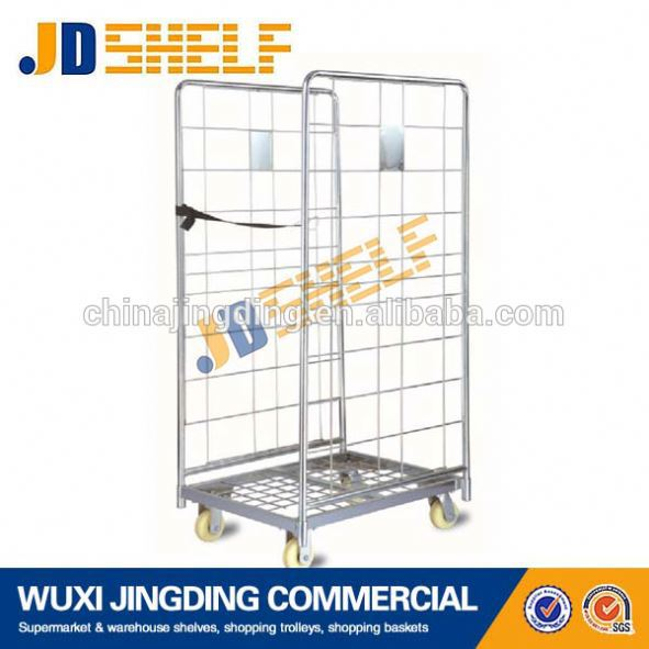 Hot selling transportation cargo hand 4 doors trolley