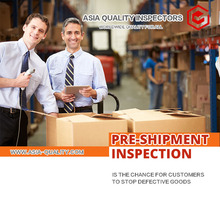 Pre-Shipment Inspection Services- Third Party Inspection 100% Quality Control Asia Quality Inspectors