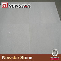 Cut to size polished white galaxy marble for flooring tile