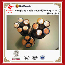 0.6/1kv cu/pvc/swa/pvc power cable 4 core 240mm xlpe armoured cable