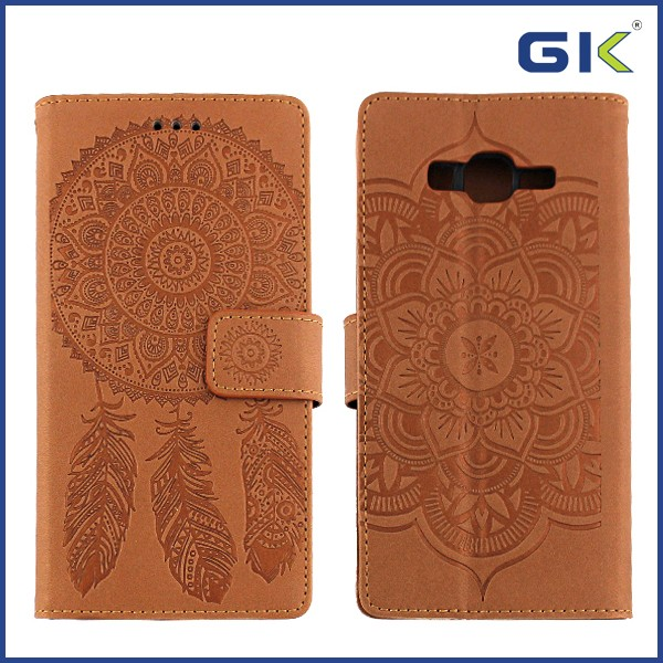 [GGIT] Wholesale Pressure Change Holster TPU+PU Flip Cover For Samsung G530 Hybrid Phone Case