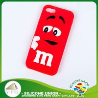 Exquisite technique custom cute logo silicone cell phone case cover