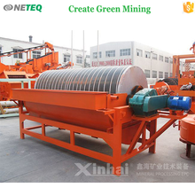 China factory price 8-240 t/h wet magnetic separator , wet magnetic separator in gold silver iron lead chrome many ore process