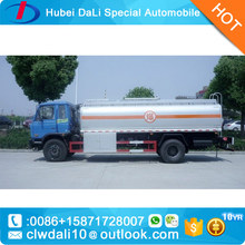 dongfeng delivery oil tank truck Fuel Tanker Truck 11000 Liters