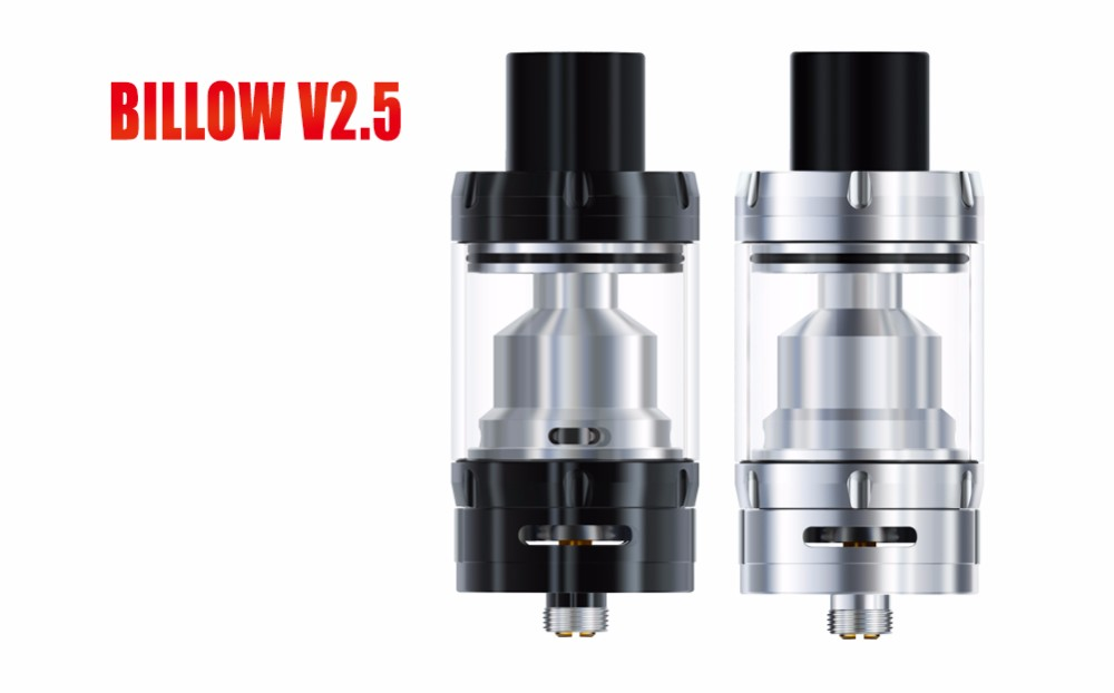 hot new imports ehpro Billow v2.5 electronic cigarettes RTA Atomizer Black Silver e cigarette Threaded Top made in japan