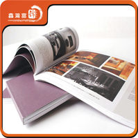 Professional printing service high quality cheap book magazine